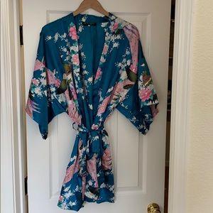 Kimono Style Wrap Robe